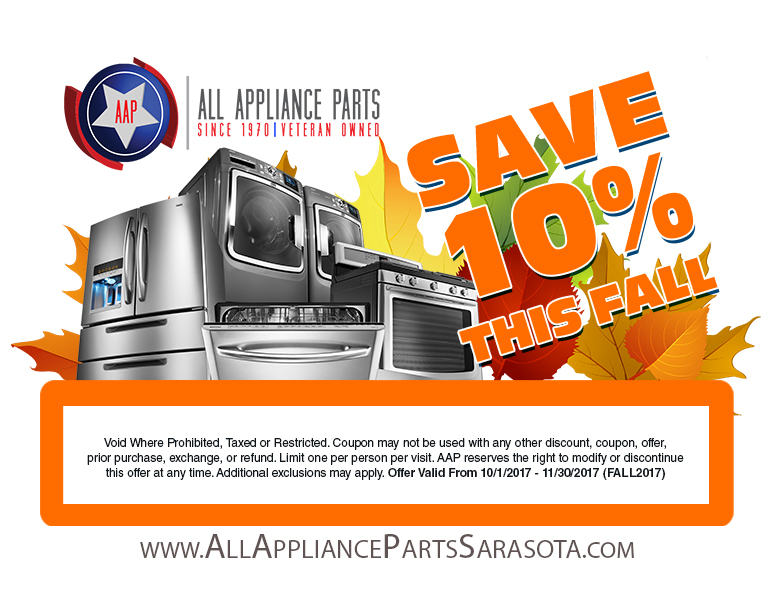 Happy Thanksgiving All Appliance Parts Of Sarasota And